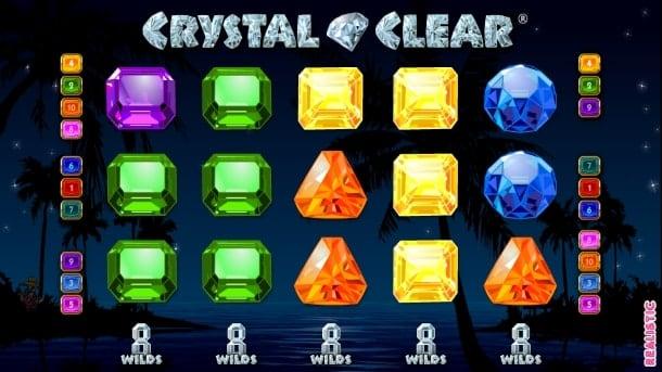 Игровой автомат Crystal Clear на Андроид с выводом денег