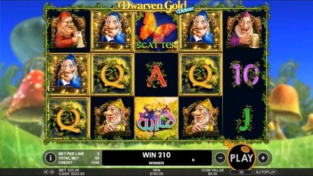 Игровые автоматы на деньги скачать на Андроид - Dwarven Gold Deluxe