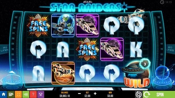 Игровые автоматы для Андроид на деньги - Star Raiders
