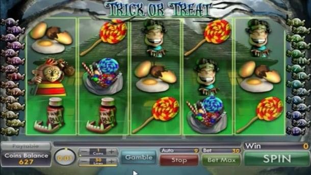 Игровые автоматы для Андроид на реальные деньги - Trick or Treat