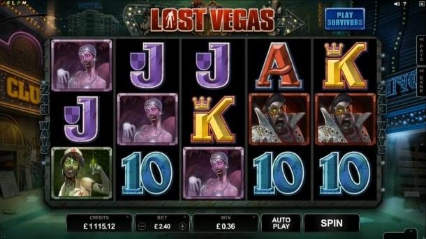 Игровой автомат Lost Vegas для Андроид на реальные деньги
