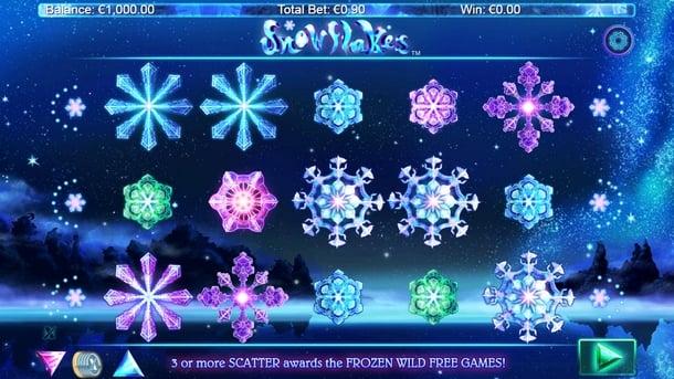 Игровые автоматы для Андроид на реальные деньги - Snowflakes