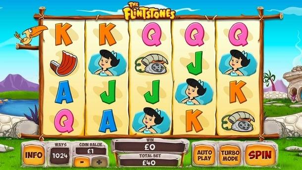 Игровые автоматы для Андроид на реальные деньги - The Flintstones