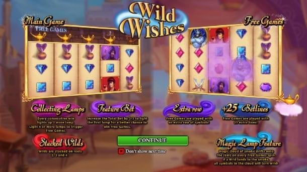 Игровой автомат Wild Wishes для Андроид на деньги